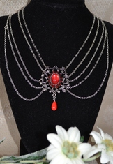 "Necklace ""Magalie"" Red"