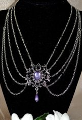 "Necklace ""Magalie"" Purple"